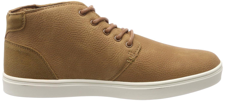Urban Classics Hibi Mid Shoe, Zapatillas para Hombre, Braun (Toffee/White), 40 EU