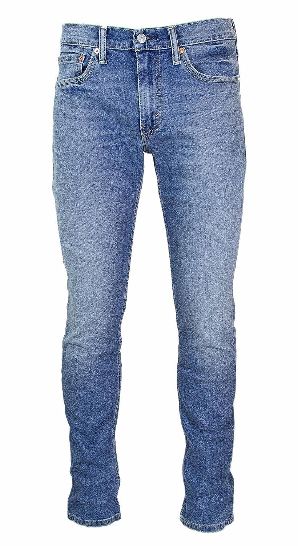 Levi's Hombre 511 Slim Fit Pixies Jeans, Azul