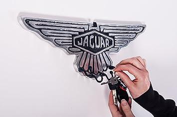Aluguss Reproduktion Auto Zeichen Jaguar Haken Und Schlüssel Rack
