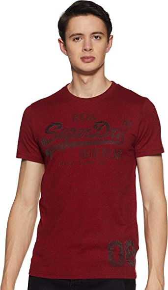 Superdry Vintage Logo CNY tee Camiseta de Tirantes para Hombre