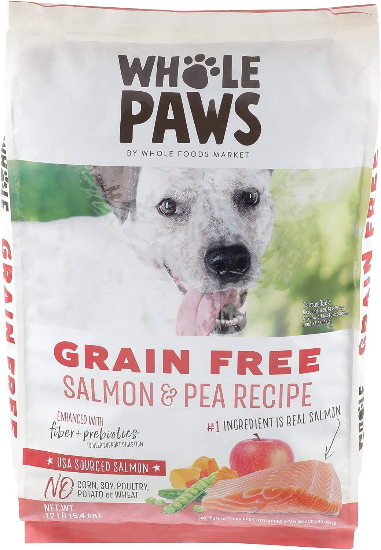 Whole Paws Dog Grain Free Salmon & Peas Recipe, 192 OZ