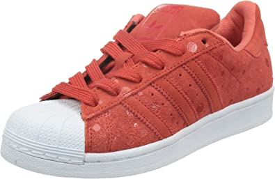 adidas original superstar femme rouge