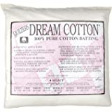 Quilters Dream Natural Cotton White Select Batting (96in x 93in) Double