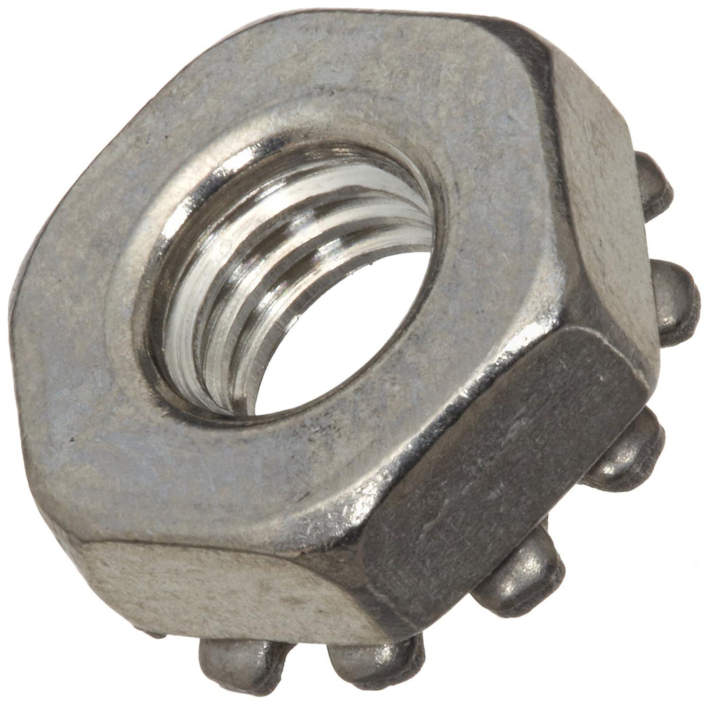 "25 pk. 1//2/""-13 Grade 2 Zinc Plated Finish Steel Tooth Washer Lock Nut"