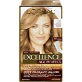 L'Oreal Paris ExcellenceAge Perfect Layered Tone Flattering Color, 7G Dark Soft Golden Blonde, (Packaging May Vary)
