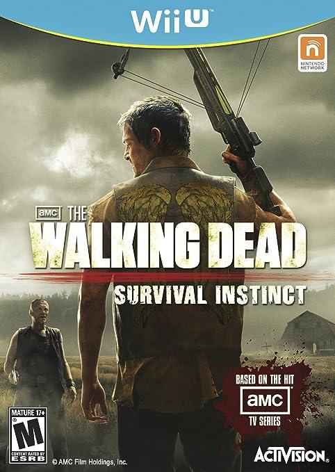 Amazon Com The Walking Dead Survival Instinct Nintendo Wii U