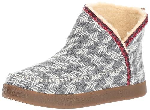 8bd5740a0 Sanuk Women's Nice Bootah Ankle Bootie, Grey Arrowooly, ...