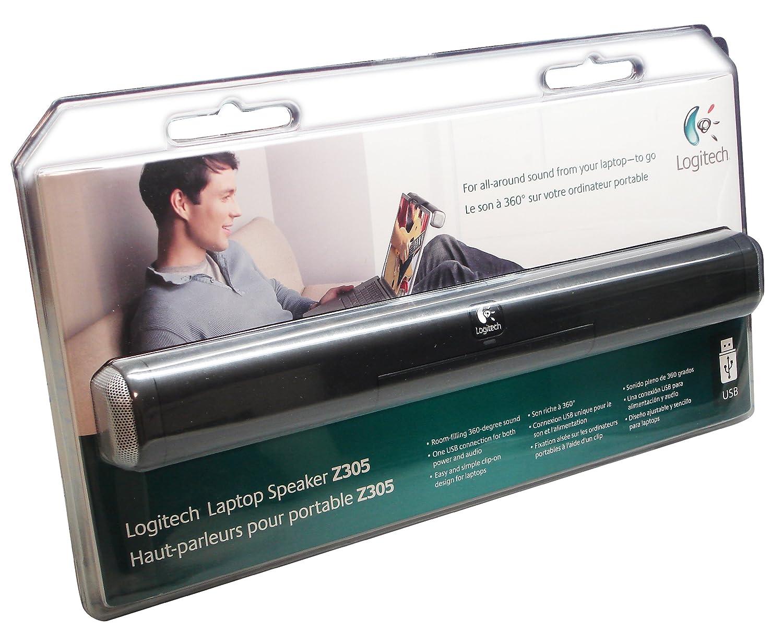 e3dfb46b9e0 Amazon.com: Logitech Z305 Clip-On USB Laptop Speaker: Electronics