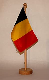 Tischst/änder wahlweise mit oder ohne 42 cm Massivholz Niederlande Holland Tischflagge 15x25 cm in Profiqualit/ät