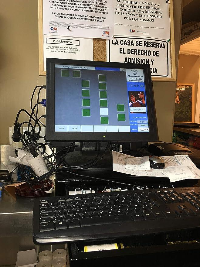 Tpv hosteleria tactil Nuevo con Impresora de Cocina y Tablet radiocomanda: Amazon.es: Informática