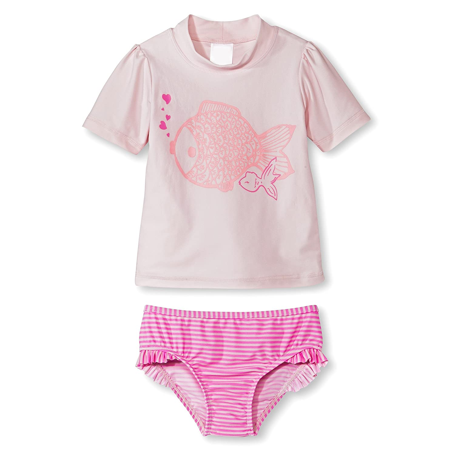 Just One You by Carter's Baby Girls' Rash Guard Set - Fishy