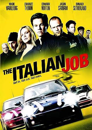 The Italian Job Amazonde Dvd Blu Ray