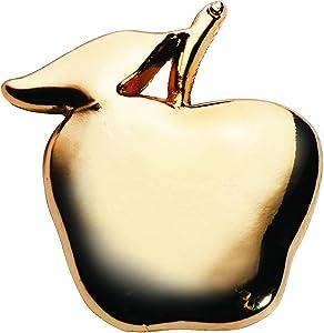 TCDesignerProducts Gold Apple Teacher Appreciation Award Pins, 12 Pins