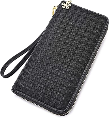 050 Fashionable Zipper Pendant Long Wallet Card Cash Holder Pouch Phone Case