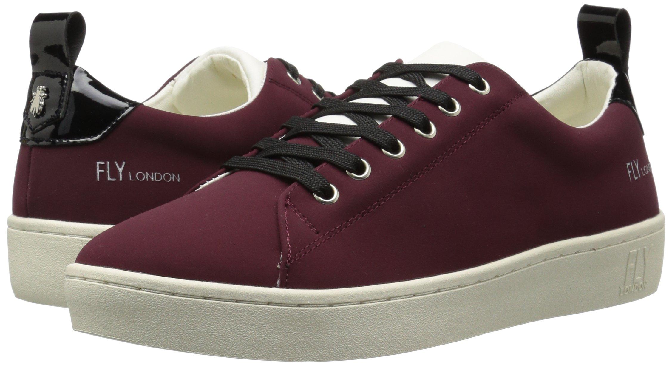 FLY London Women's MACO833FLY Sneaker, Bordeaux/Black Nubuck/Patent, 37 M EU (6.5-7 US) by FLY London (Image #6)
