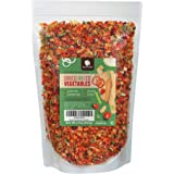 Gourmanity 2 lb Dehydrated Mixed Vegetables, All Natural, Gluten Free & Allergen Free, Dried Vegetable Soup Mix, Dried Ramen Vegetables, Dried Vegetables For Soup, Vegetable Soup Mix Dried