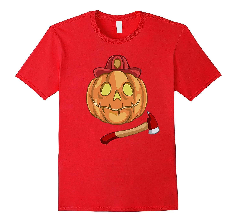 Funny Firefighter Halloween Costume T-Shirt-T-Shirt