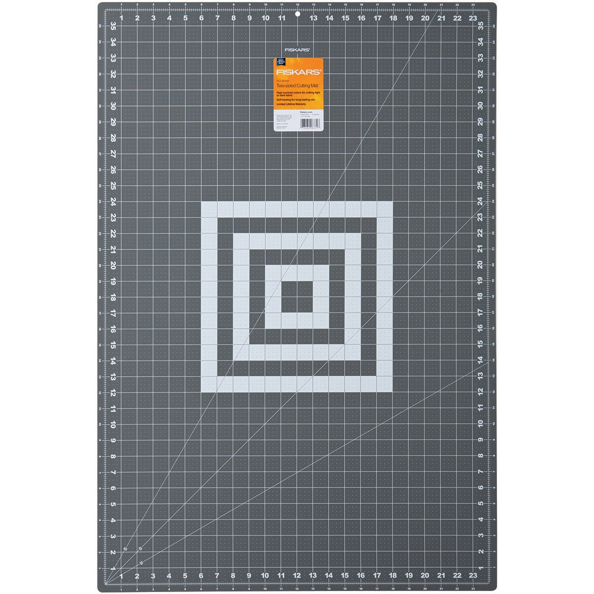 Fiskars 128371 18-Inch by 24-Inch Self Healing Rotary Cutting Mat Fiskars School Office and Craft Division 12-83717097J