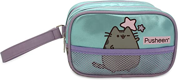 Neceser Doble para niña Pusheen The Cat Estuche/Neceser Relax Rectangular, tamaño Mediano.: Amazon.es: Equipaje