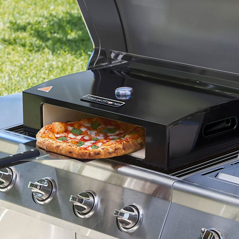 Barbecue Grill Mounted Pizza Oven