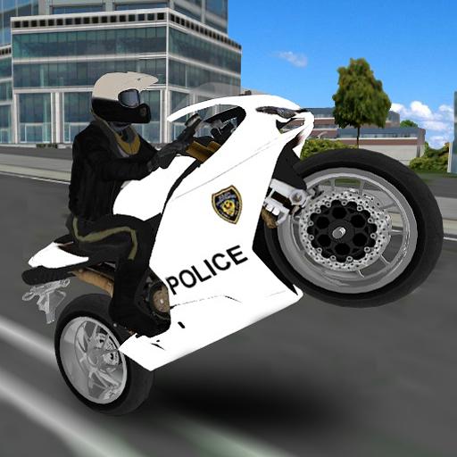 Police Moto Bike Simulator 3D ()