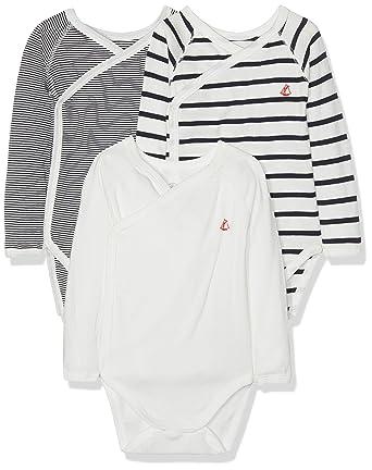 Petit Bateau Body Mixte bébé  Amazon.fr  Vêtements et accessoires 5c50f4199f4