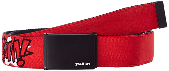Pull in - ceinture - à logo - synthétique - homme - rouge (crack red ... 7ea5ba1a356