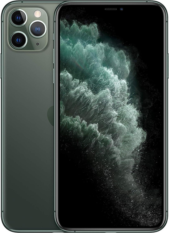 Apple iPhone 11 Pro Max 64GB - Verde Noche - Desbloqueado (Reacondicionado)