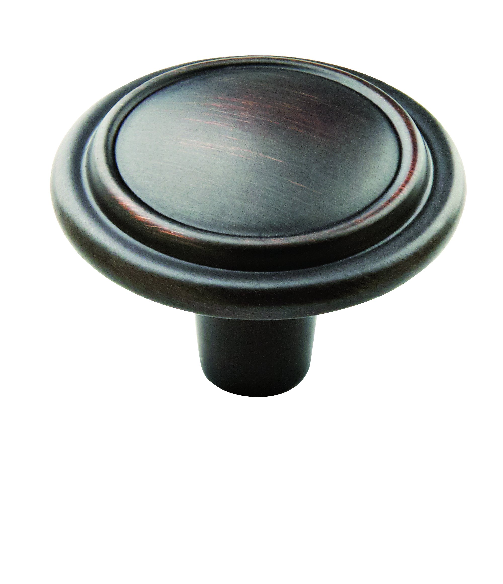 Allison Value 1-1/4 in (32 mm) Oil-Rubbed Bronze Cabinet Knob - 25 Pack