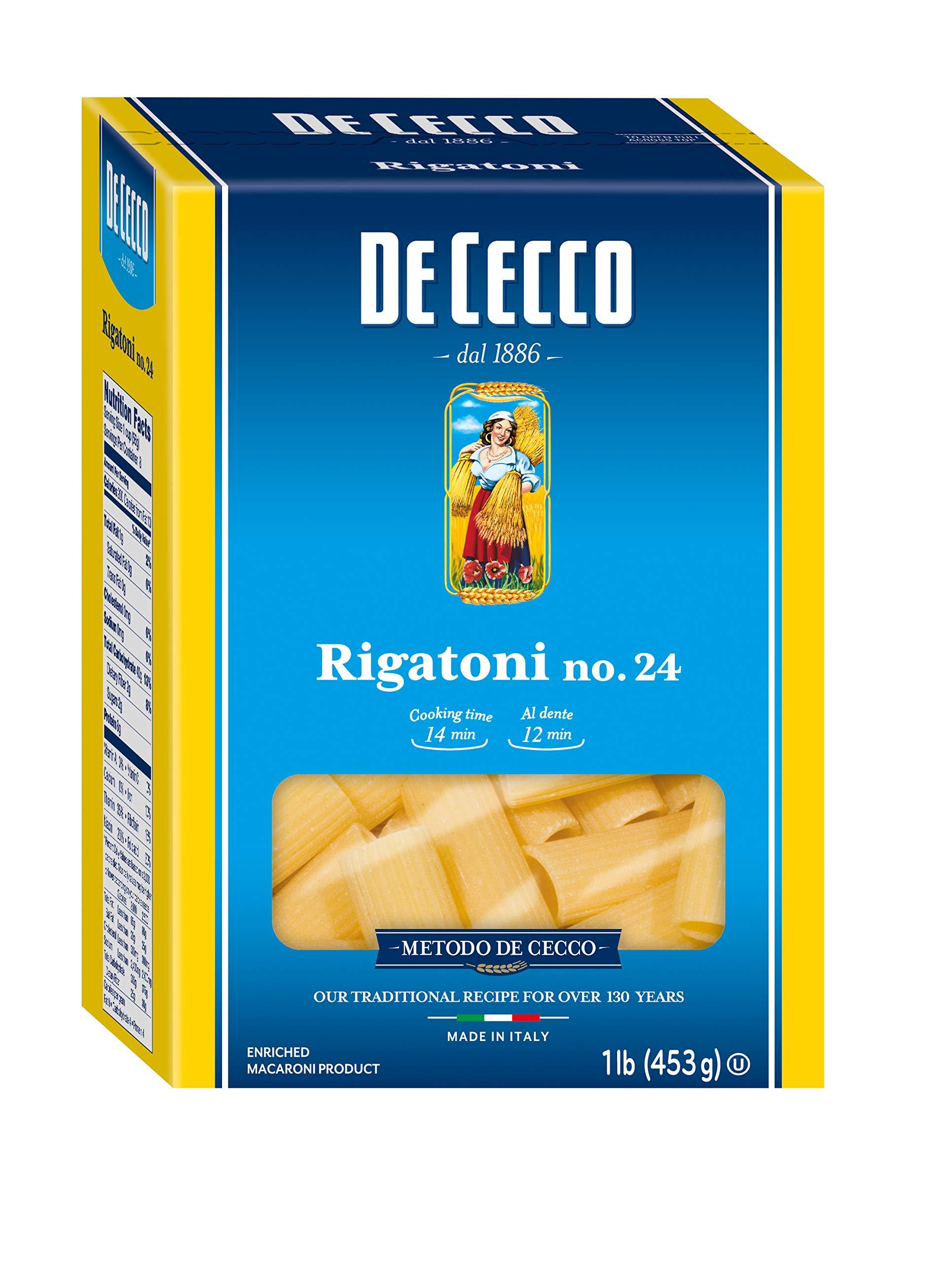 De Cecco Semolina Pasta, Spaghetti No.12, 1 Pound