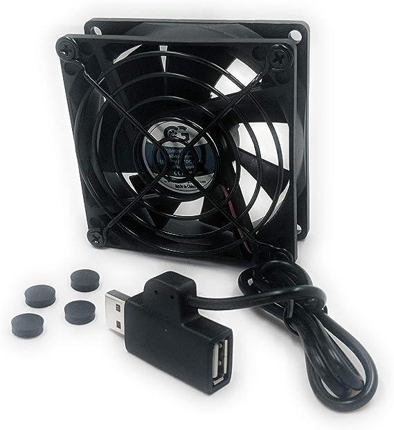 Coolerguys Single 80 mm USB Ventilador de refrigeración: Amazon.es ...