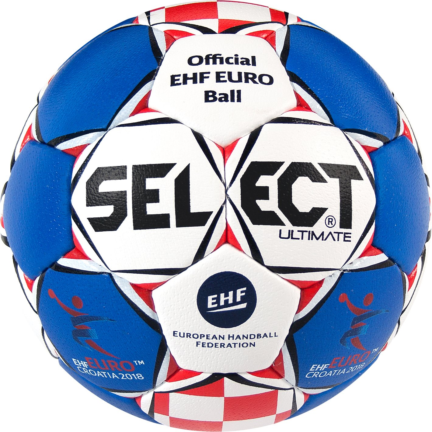 Select Ultimate Unisex ehf Euro 2018 de Balonmano, Color Azul ...