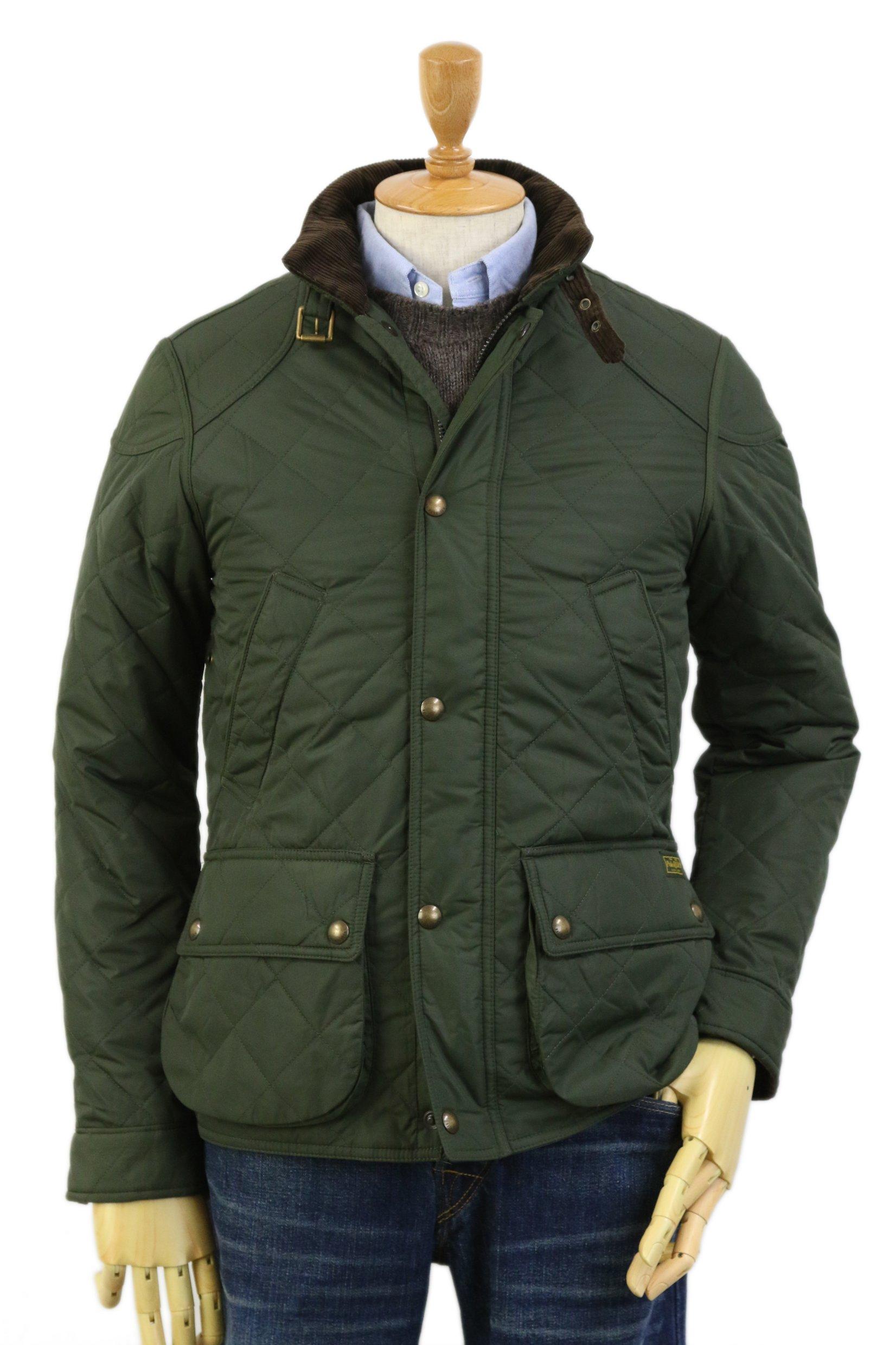 Polo Ralph Lauren Men's Quilted Jacket Car Coat S