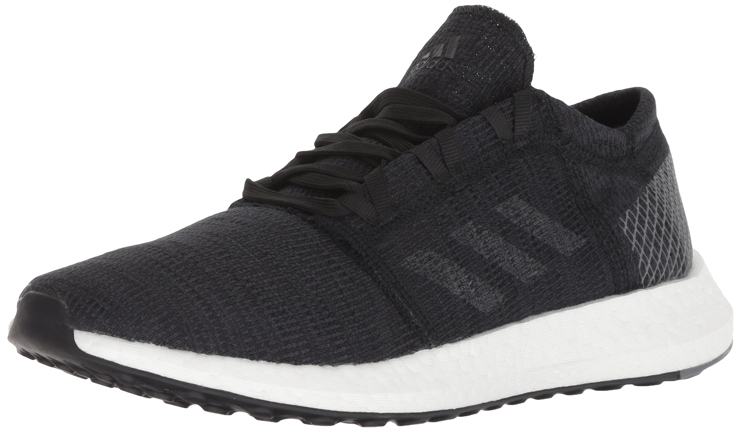 adidas Women's Pureboost Go Running Shoe, Black/Grey/Grey, 8 M US
