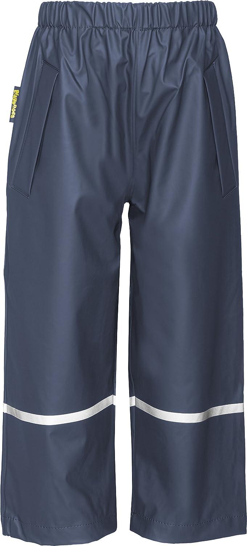 Playshoes Pantaloni impermeabili, Bimbi 405423 Regenhose ohne Latz