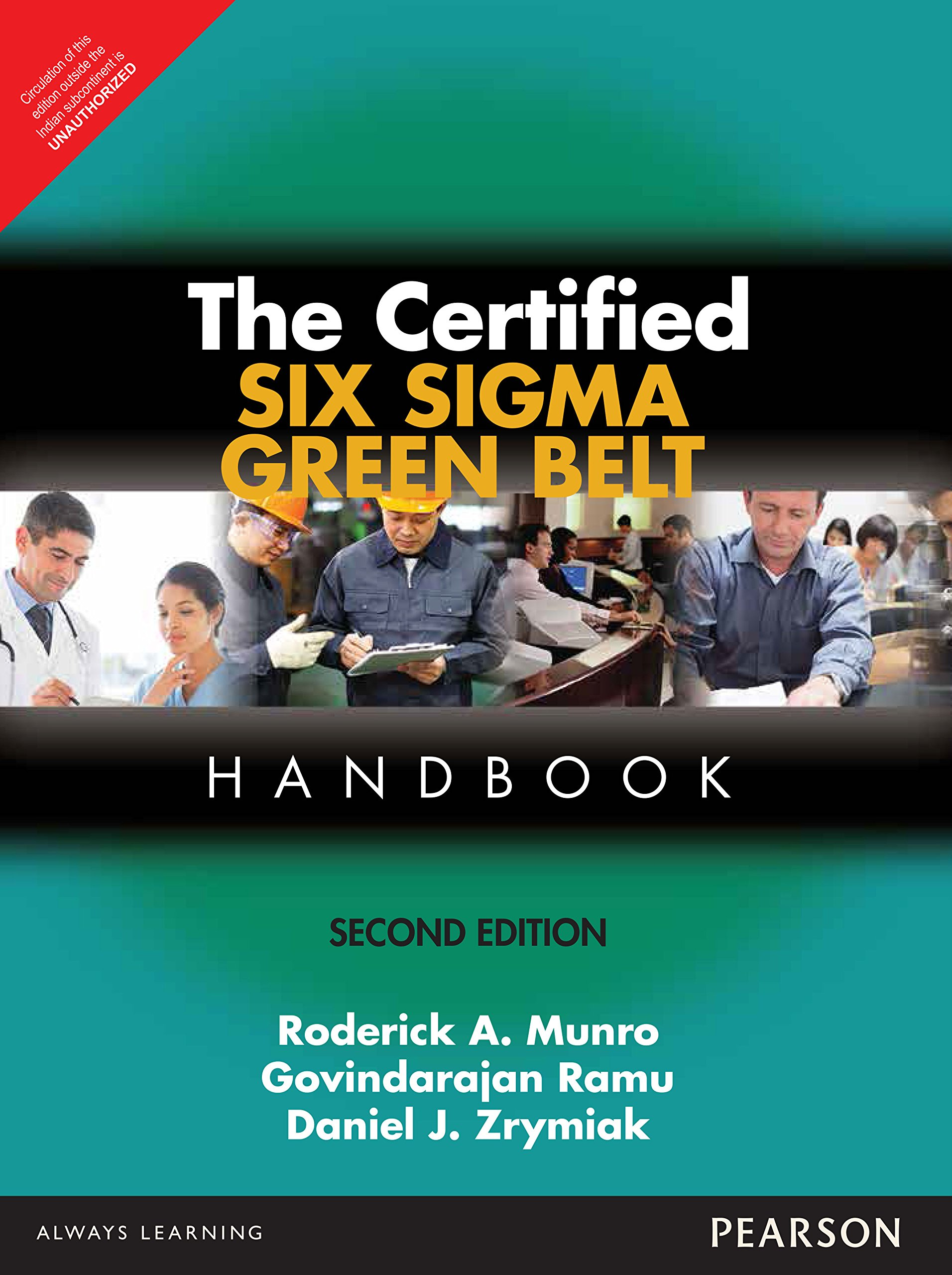 Buy The Certified Six Sigma Green Belt Handb Book Online At Low