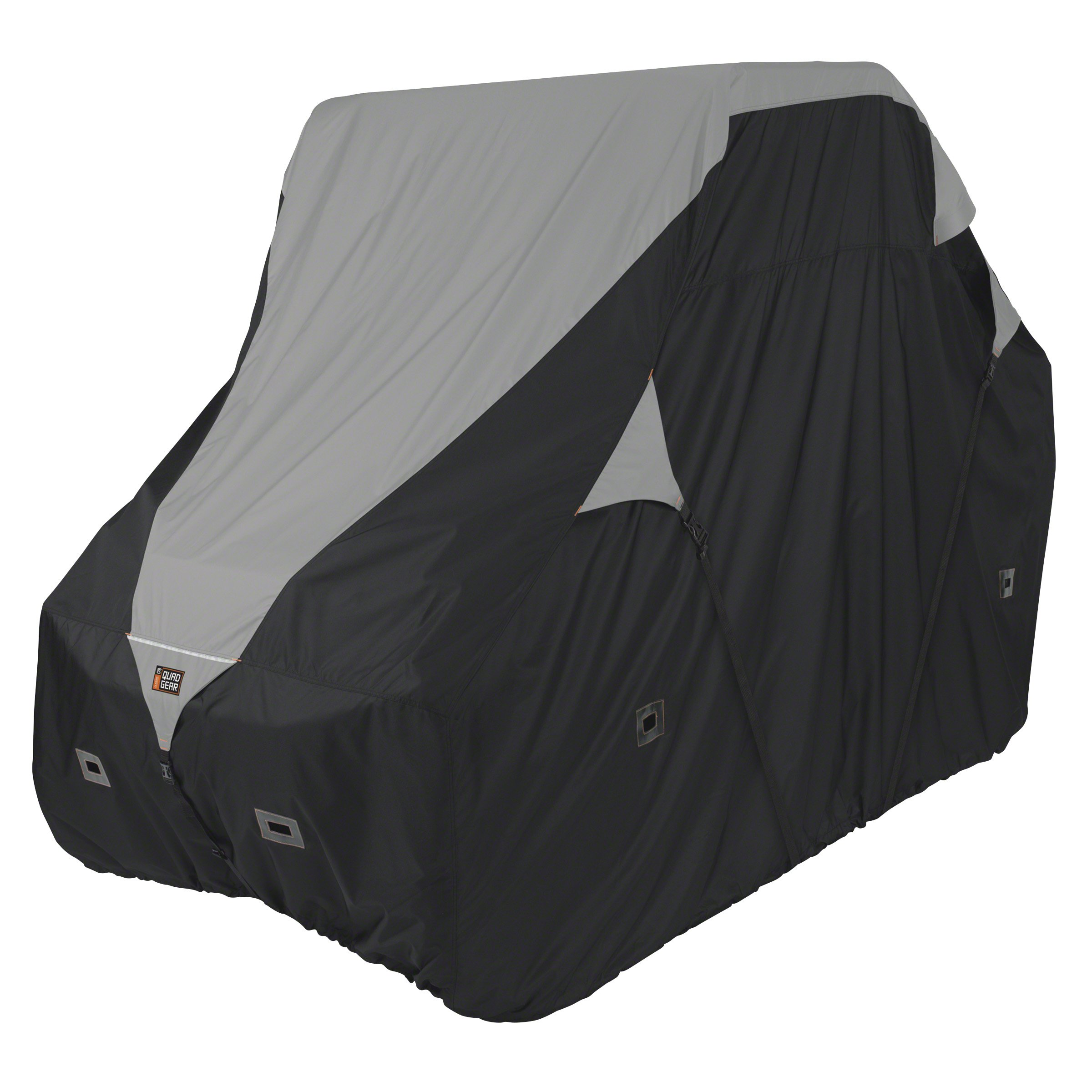 Classic Accessories 18-065-053801-00 Black/Grey QuadGear UTV Deluxe Storage Cover (for Larger 2-3 Passenger UTVs Up to 125'' L 64'' W 70'' H)