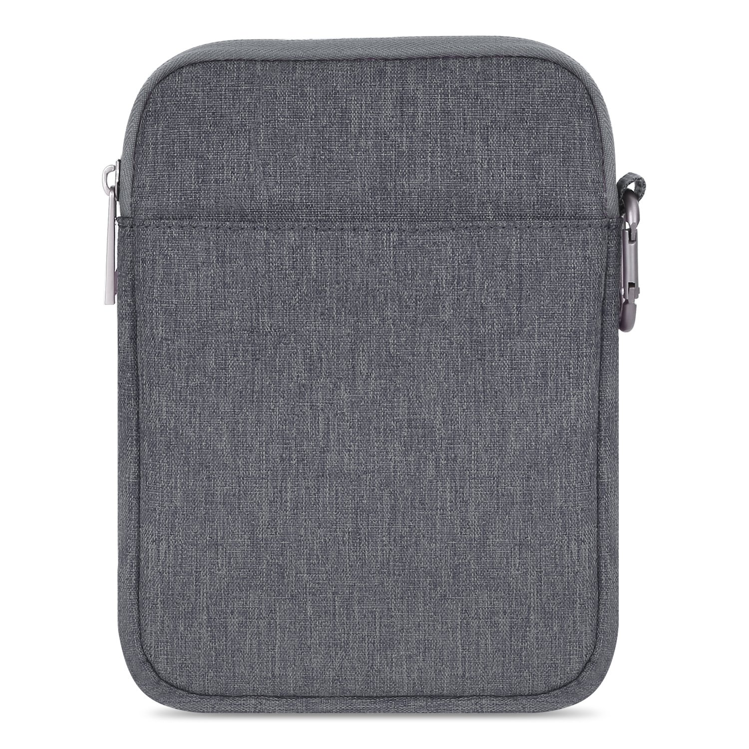 """B01N1S81GB MoKo 6 Inch Kindle Sleeve Case Fits for All-New Kindle 10th Generation 2019/Kindle Paperwhite 2018, Nylon Cover Pouch Bag for Kindle Voyage/Kindle (8th Gen, 2016)/Kindle Oasis 6"""" E-Reader, Dark Gray 81SG2cgDlfL"""