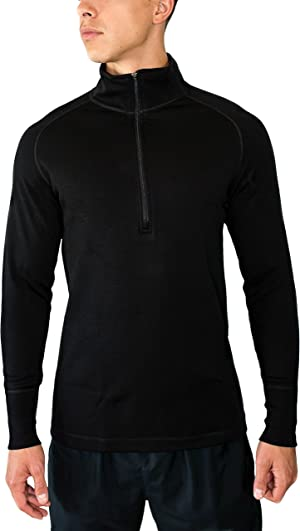877f76b24ad2 An extreme merino wool 1 4 zip designed for the coldest of weather.