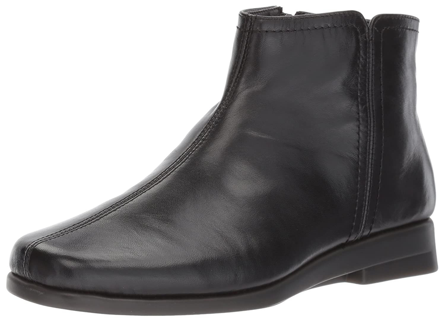 Aerosoles Women's Double Trouble 2 Ankle Boot B06Y618B6N 8.5 W US|Black Leather