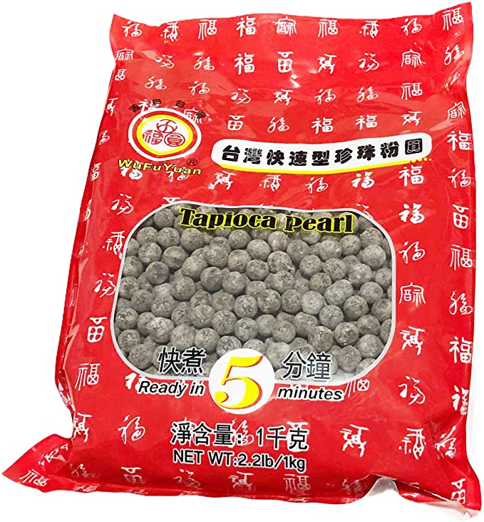 Wufuyuan Tapioca PEARL BLACK 1kg
