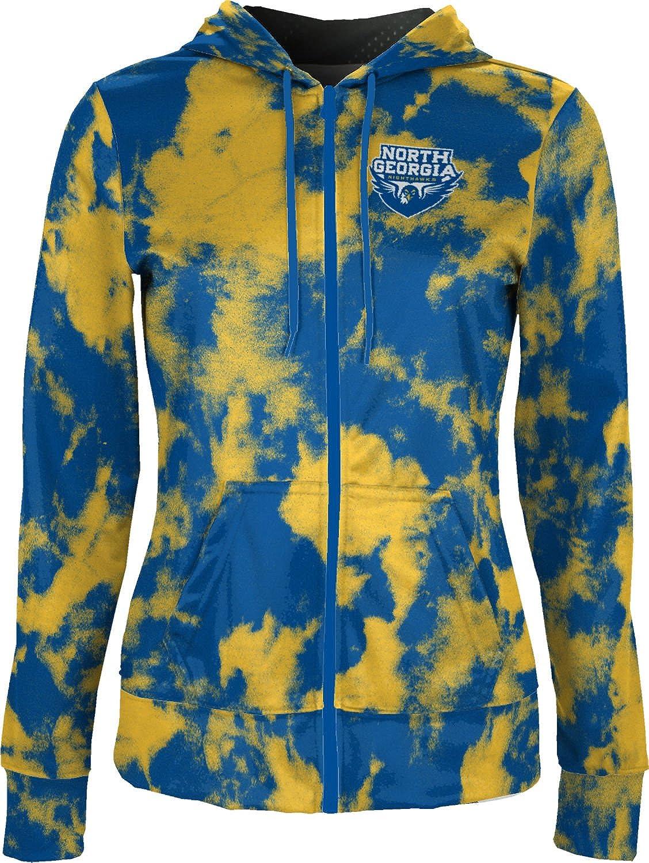 Grunge University of North Georgia Girls Zipper Hoodie School Spirit Sweatshirt