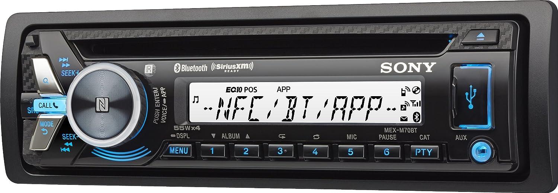 amazon com sony mexm70bt bluetooth cd usb marine stereo receiver rh amazon com Sony Xplod Wiring Harness Colors Sony Xplod 52Wx4 Wiring-Diagram