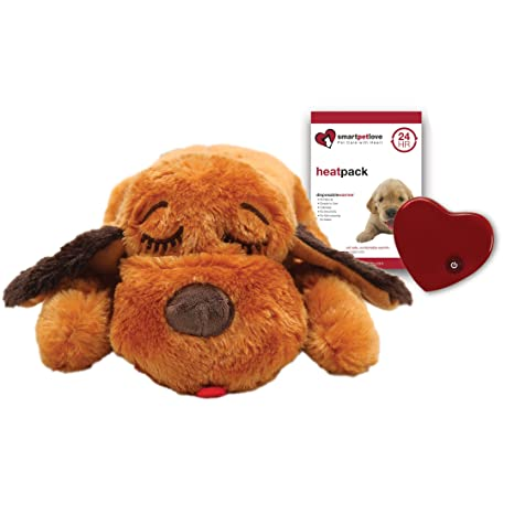 Amazon Com Smartpetlove Snuggle Puppy Behavioral Aid Toy Brown