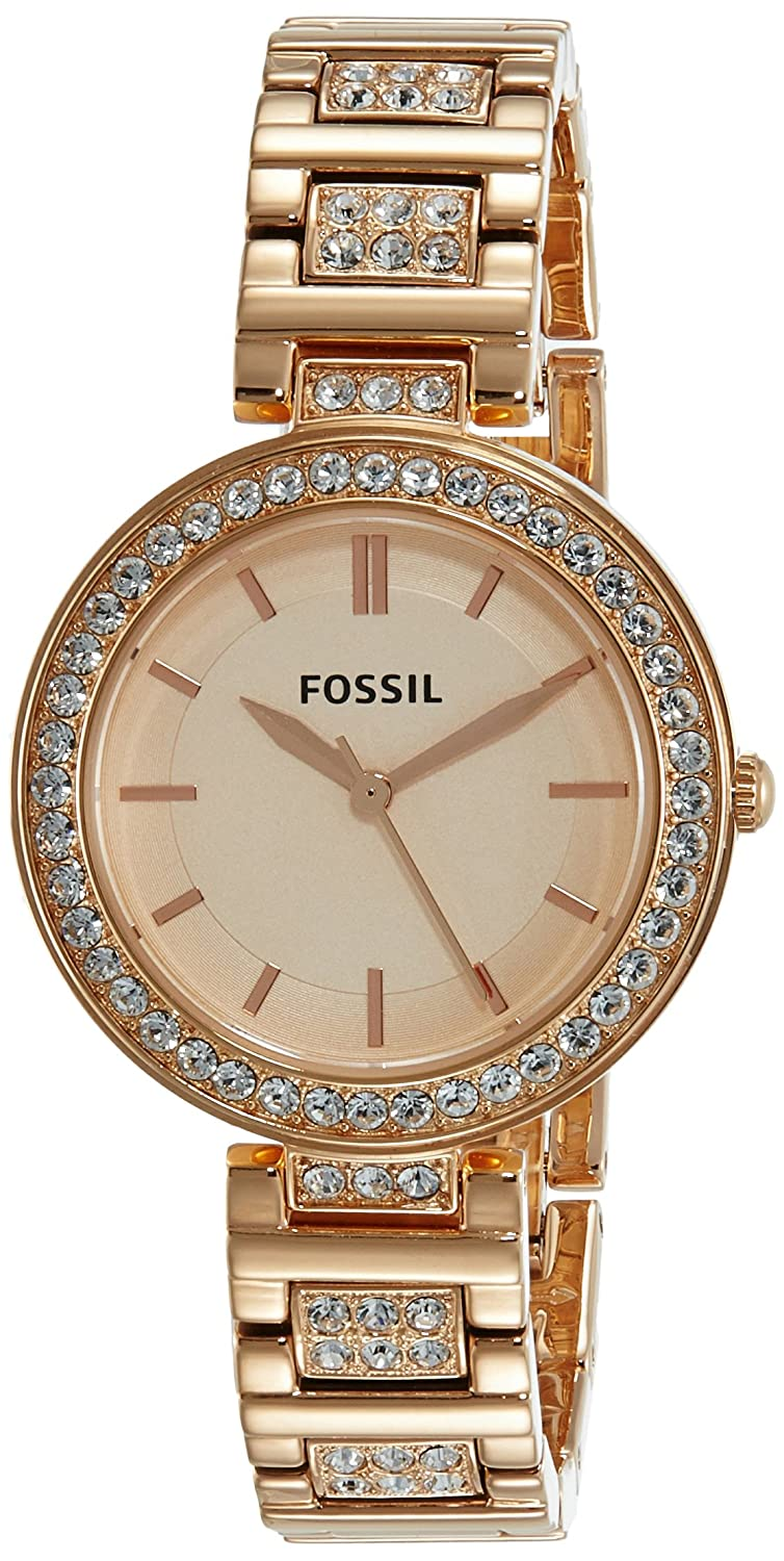 904dcc4b0f2 Buy Fossil Analog Rose Gold Dial Women s Watch - BQ3181 Online at Low  Prices in India - Amazon.in