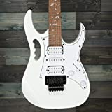 Ibanez JEMJRWH Steve Vai Signature 6-String Electric Guitar - White
