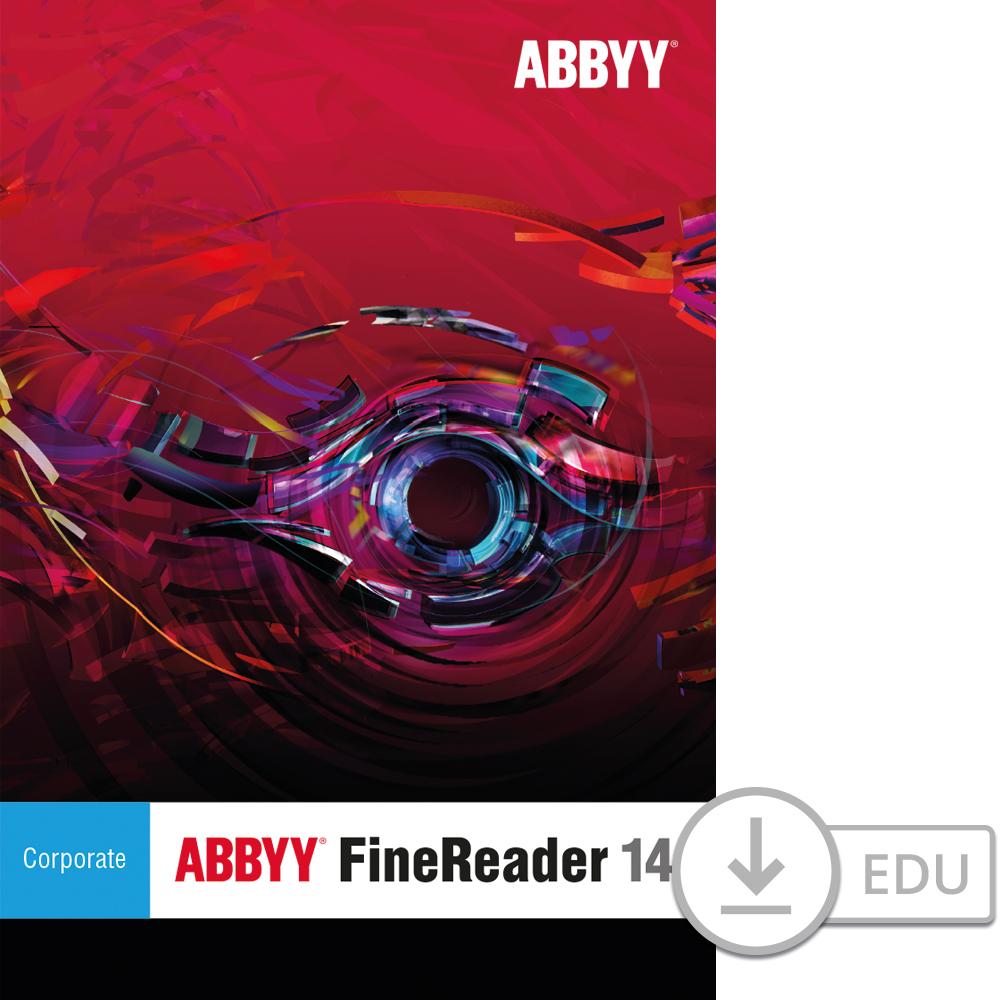 ABBYY FineReader 14 Corporate for PC- for Education [Download] by Abbyy USA