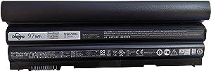 Dentsing 71R31 New Battery Replace for DELL 462-3678 / LI-ION 9CELL 97WHR Batt Latitude E6540/ E6440 ATG Precision M2800 LAPTOPS