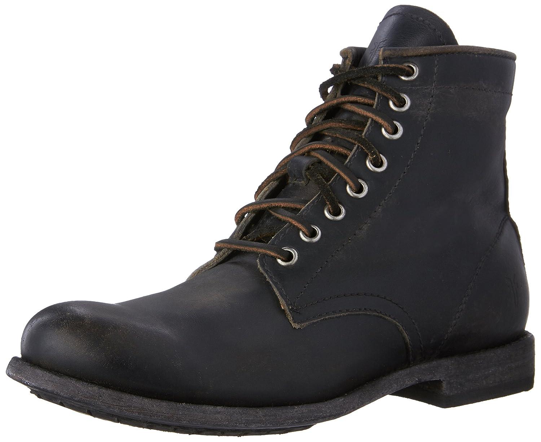 86071-schwarz FRYE Men& 039;s Tyler Lace-Up Stiefel