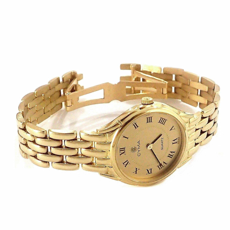 Reloj oro 18k Cyma modelo panter mujer [AB4257] - Modelo: 6518: Amazon.es: Joyería
